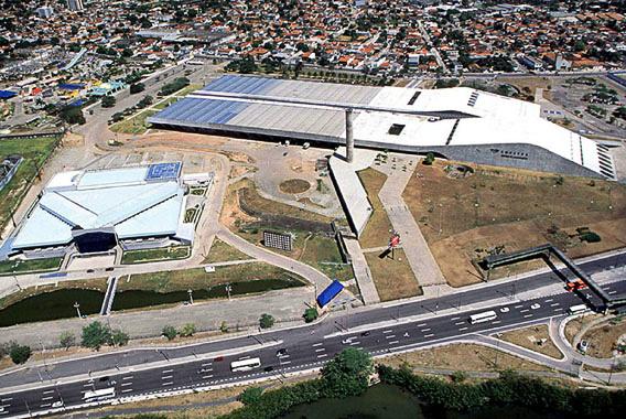 Centro de Convenções, em Olinda. Crédito: governo do estado