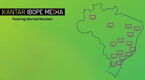 As 15 regiões metropolitanas brasileiras analisadas pelo Kantar Ibope Media. Crédito: Kantar Ibope/twitter (@K_IBOPEMedia)