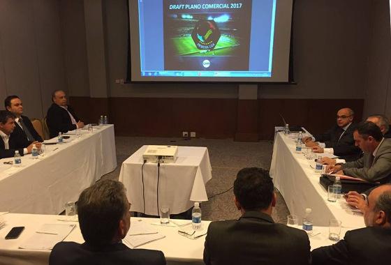 Reunião da Primeira Liga em 13/09/2016, em Brasília. Foto: Primeira Liga/facebook