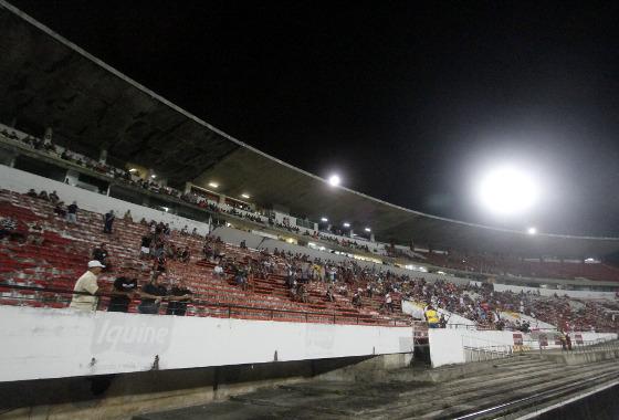 Série A 2016, 25ª rodada: Santa Cruz x Atlético-PR. Foto: Ricardo Fernandes/DP