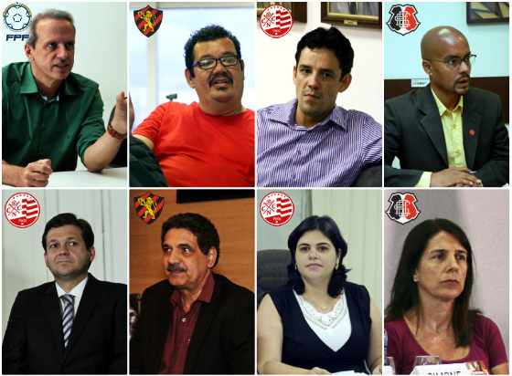 Os candidatos a prefeito do Recife em 2016. Fotos: Diario de Pernambuco
