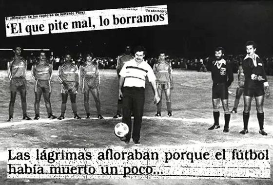 O envolvimento de Pablo Escobar com o futebol colombiano