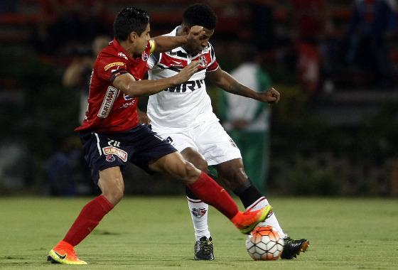 Sul-Americana 2016, oitavas de final: Independiente Medellín x Santa Cruz. Foto: Raul Arboleda/AFP