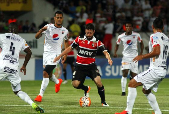 Sul-Americana 2016, oitavas: Santa Cruz 3 x 1 Independiente Medellín. Foto: Peu Ricardo/DP
