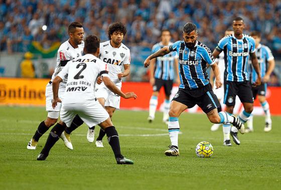Copa do Brasil 2016, final: Grêmio 1x1 Atlético-MG. Foto: Lucas Uebel/Grêmio FBPA