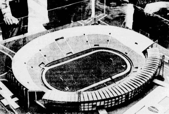Maquete original da ampliação do Arruda (1980). Foto: Acervo/DP