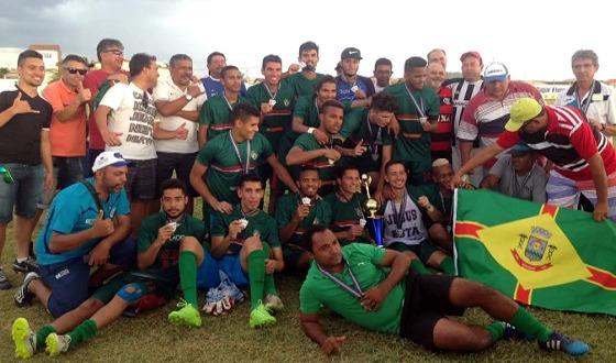 Flamengo de Arcoverde campeão pernambucano da 2ª divisão em 2016. Foto: FPF/site oficial