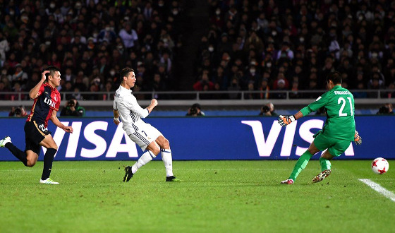 Mundial de Clubes 2016, final: Real Madrid 4 x 2 Kashima Antlers. Foto: Fifa/twitter