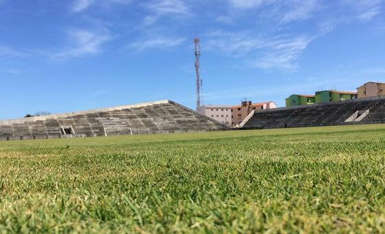 Estádio Grito da República, em Olinda. Foto: Diego Borges/DP