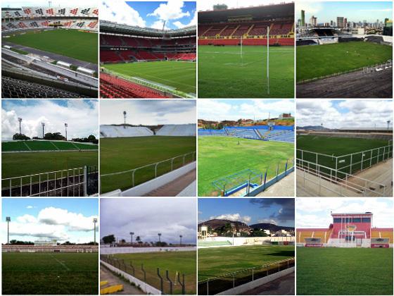 Estádios do Campeonato Pernambucano de 2017