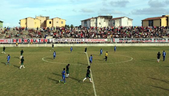 Jogo-treino na pré-temporada de 2017: Santa Cruz 3 x 0 Agap. Foto: Yuri de Lira/DP