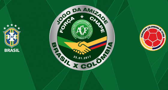 Jogo da Amizade, Brasil x Colômbia. Crédito: CBF