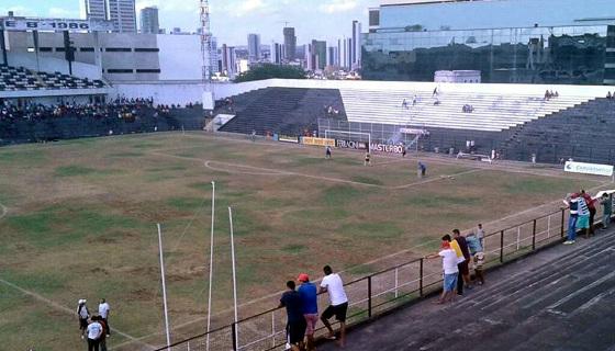 Pernambucano 2017, 1ª fase: Central 2x0 Belo Jardim. Foto: Belo Jardim/facebook (@CalangolBJFC)