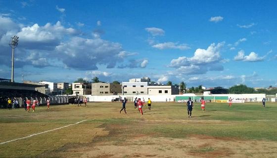 Estádio Pereirão em 08/01/2017. Foto: Geovani / Serra Talhada (ascom)