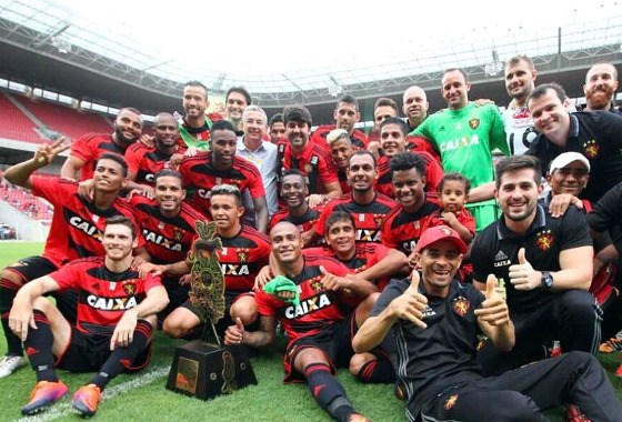 Taça Ariano Suassuna 2017: Sport 1 (4) x (2) 1 The Strongest. Foto: Williams Aguiar/Sport Club do Recife
