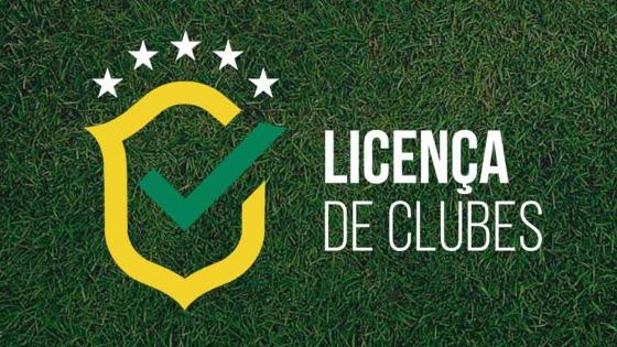 A licença de clubes por parte da CBF. Crédito: CBF/site oficial