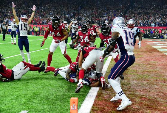 Super Bowl 51, Patriots 34 x 28 Falcons. Foto: Todd Rosenberg/NFL
