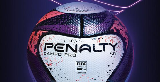 Bola S11, da Penalty, para o Campeonato Pernambucano. Crédito: Penalty/facebook