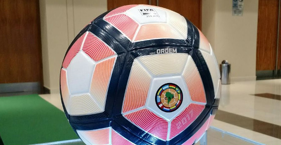 Bola Nike Ordem 4, para os torneios da Conmebol. Foto: Copa Sul-Americana/facebook