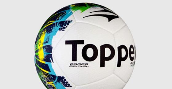 A bola da Primeira Liga 2017, possivelmente a mesma da Série B 2017. Crédito: Topper