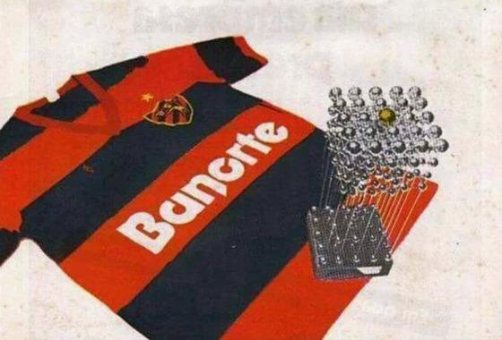 Comercial do Banorte após a conquista do Sport em 1987