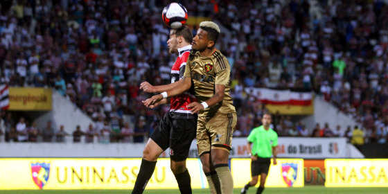Pernambucano 2017, 4ª rodada: Santa Cruz 1 x 1 Sport. Foto: Williams Aguiar/Sport Club do Recife
