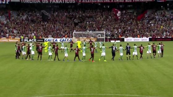 Paranaense 2017, transmissão do Atletiba. Crédito: reprodução