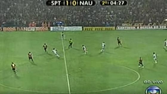 Pernambucano 2010, final: Sport 1 x 0 Náutico. Imagem: Rede Globo/reprodução