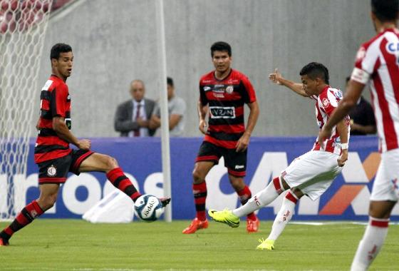 Copa do Nordeste 2017, 1ª fase: Náutico 0 x 0 Campinense. Foto: Ricardo Fernandes/DP