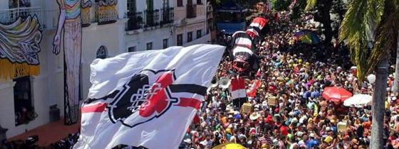 Desfile da troça Minha Cobra em 2016. Foto: divulgação
