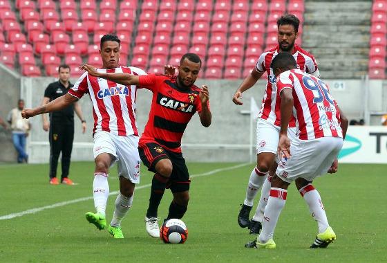Pernambucano 2017, 6ª rodada: Náutico 2x1 Sport. Foto: Williams Aguiar/Sport Club do Recife
