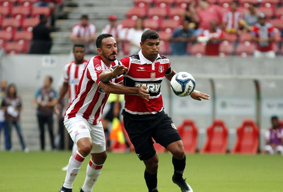 Copa do Nordeste 2017, 1ª fase: Náutico x Santa Cruz. Foto: Ricardo Fernandes/DP