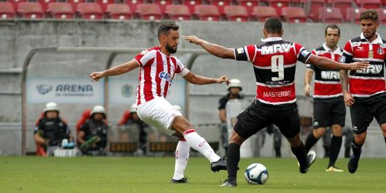 Copa do Nordeste 2017, 1ª fase: Náutico 1x0 Santa Cruz. Foto: Ricardo Fernandes/DP