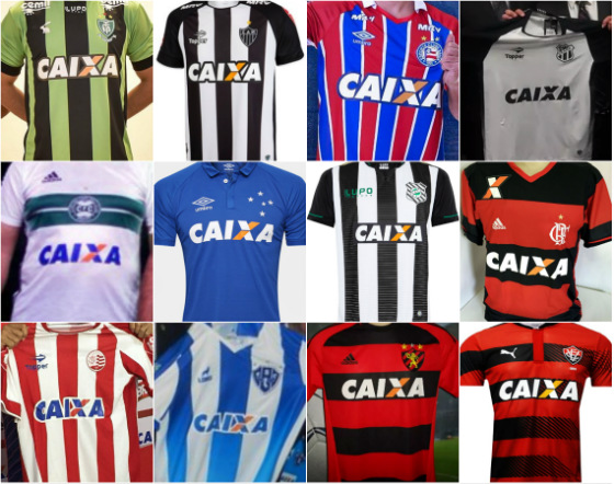 Clubes patrocinados pela Caixa em 2017 f1779094febc8