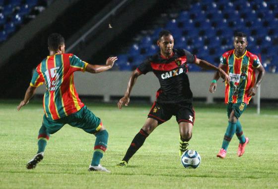Copa do Nordeste 2017, 1ª fase: Sampaio Corrêa 2x1 Sport. Foto: Williams Aguiar/Sport Club do Recife