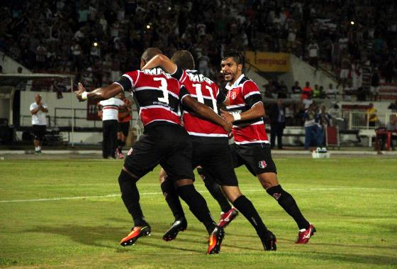 Copa do Nordeste 2017, 1ª fase: Santa Cruz 1x0 Campinense. Foto: Rodrigo Baltar/Santa Cruz (site oficial)