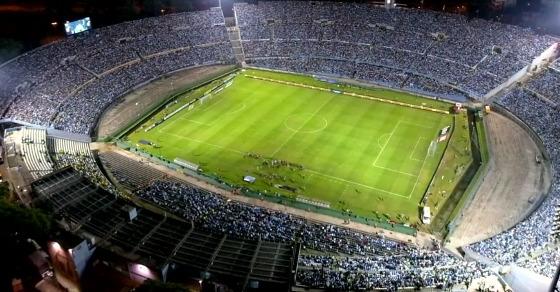 Eliminatórias da Copa 2018, em 22/03/2017: Uruguai x Brasil. Foto: AUF/twitter (@Uruguay)