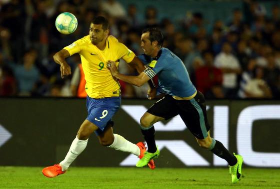 Eliminatórias da Copa 2018, em 22/03/2017: Uruguai 1x4 Brasil. Foto: Lucas Figueiredo/CBF