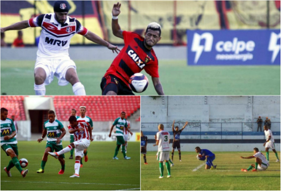 Jogos da 8ª rodada do Pernambucano 2017: Sport 1 x 1 Santa (Ricardo Fernandes/DP), Náutico 1 x 1 Belo Jardim (Rafael Martins/DP) e Central 0 x 2 Salgueiro Medson Magno/Central