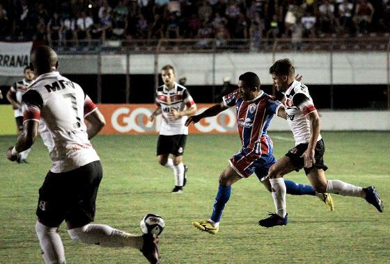 Nordestão 2017, quartas de final: Itabaiana 0 x 1 Santa Cruz. Foto: Wendell Rezende/Itabaiana/instagram (@wendellrezende e @itabaianaoficial)