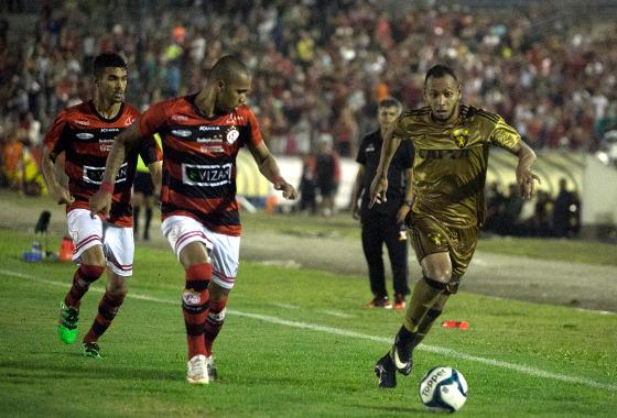 Nordestão 2017, quartas de final: Campinense 3 x 1 Sport. Foto: Williams Aguiar/Sport Club do Recife