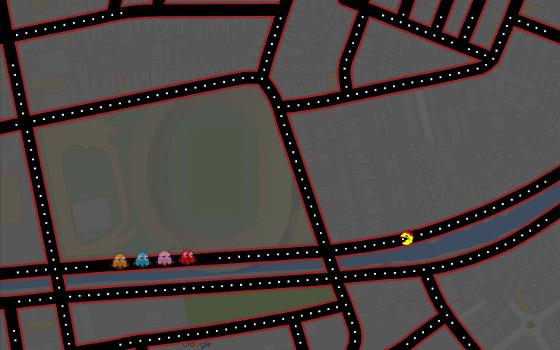 Pac-Man no Arruda. Crédito: Google Maps/reprodução