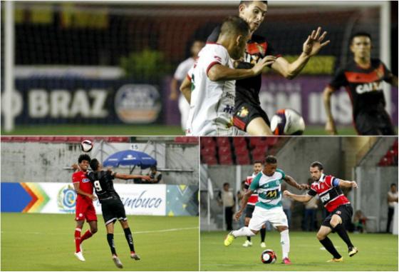 Pernambucano 2017, 9ª rodada: Sport 2 x 2 Salgueiro, Náutico 5 x 0 Central e Belo Jardim 0 x 1 Santa Cruz. Fotos: Ricardo Fernandes/DP
