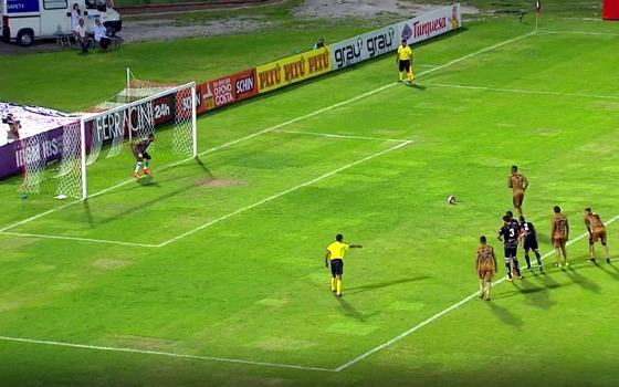Pernambucano 2017, 10ª rodada: Central 1 x 3 Sport. Crédito: Rede Globo/reprodução