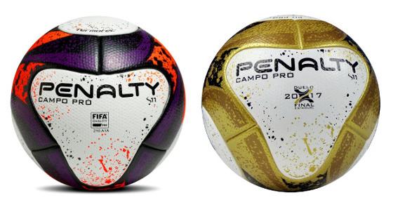 As bolas oficiais do Campeonato Pernambucano de 2017