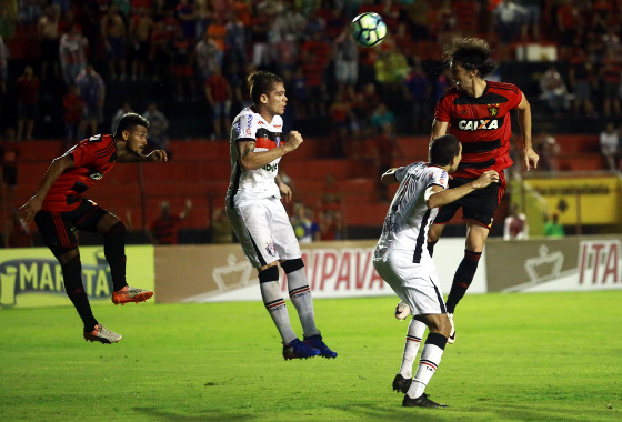 Copa do Brasil 2017, 4ª fase: Sport 2 x 1 Joinville. Foto: Williams Aguiar/Sport Club do Recife