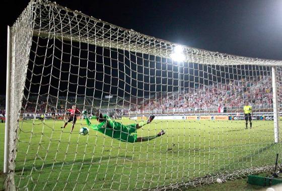 Copa do Brasil 2017, 4ª fase: Joinville (3) 2 x 1 (4) Sport. Foto: Carlos Jr./Futura Press/Estadão conteúdo