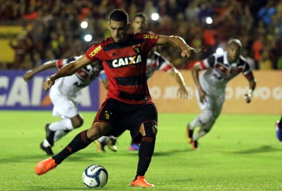 Copa do Nordeste 2017, semifinal: Sport 1x2 Santa Cruz. Foto: Williams Aguiar/Sport Club do Recife