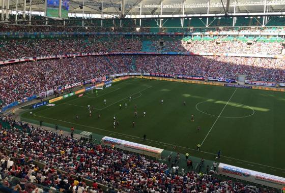 Copa do Nordeste 2017, semifinal: Bahia 2 x 0 Vitória. Foto: Bahia/twitter (@ECBahia)