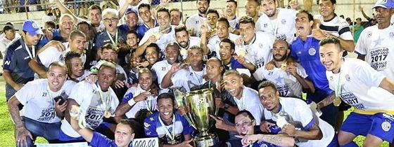 Confiança campeão sergipano de 2017. Foto: Confiança/divulgação